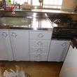 キッチンセット、床の貼替え