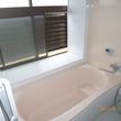 在来浴室からユニットバスへ改装、灯油ボイラー交換、洗面室クロス貼替え