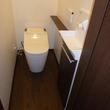 トイレ改装、下水工事