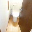 S邸-トイレ便器交換、床・壁天井貼替え、エコキュート設置、浴槽循環穴あけ、循環金具取付