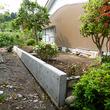 富山市−A邸 隣地境界線のコンクリートL型擁壁工事